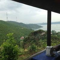 Photo taken at Çam Vadisi Cafe by Volkan U. on 6/2/2013