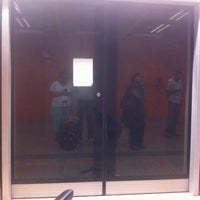 Photo taken at Delhi Aerocity Metro Station by Reshma A. on 10/24/2013