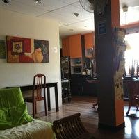 Photo taken at River City Inn Hostel by Akira H. on 9/11/2013