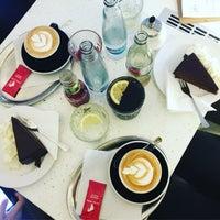 Photo taken at Café U Tří korunek by Jitka G. on 3/16/2018