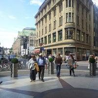 Photo taken at Schadowplatz by Ira A. on 8/9/2013