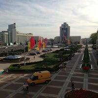 Photo taken at Гостиница «Минск» / Minsk Hotel by Андрей Т. on 5/9/2013