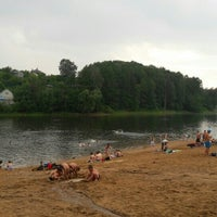 Photo taken at Озеро в Красногорском лесу by Оленька on 7/2/2016