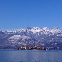 Photo taken at Lungolago di Stresa by Anna O. on 2/26/2013