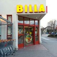 Photo taken at BILLA by Peter G. on 2/7/2013