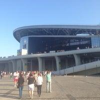 Photo taken at Kazan-Arena by Влад М. on 7/4/2013