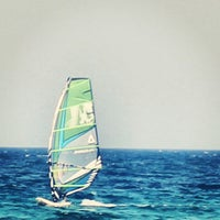 Photo taken at Tony Frey Windsurfing Club by Aigli B. on 7/28/2013