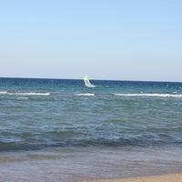 Photo taken at Tony Frey Windsurfing Club by Aigli B. on 8/4/2013