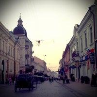 Снимок сделан в Улица Ольги Кобылянской пользователем angstogram 10/25/2012