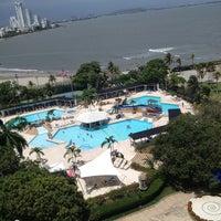 Photo taken at Hilton Cartagena by Aline B. on 6/19/2013