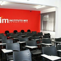 Photo taken at Instituto Mix - São Vicente by Caio R. on 5/19/2014