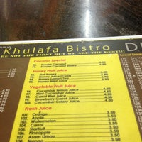 Photo taken at Restoran Khulafa Bistro by LeeyanaFeguiera on 9/19/2013