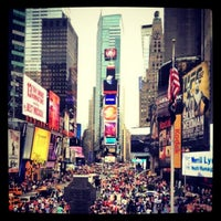 Photo taken at Times Square by Luca V. on 7/5/2013