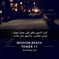 Foto tomada en Mission Beach por Yazeed A. el 9/8/2018