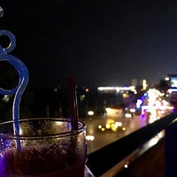 Photo taken at Le Moon Rooftop Lounge by Panharen S. on 2/19/2018
