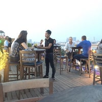 Photo taken at Le Moon Rooftop Lounge by Panharen S. on 4/6/2018
