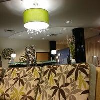 Photo taken at Holiday Inn Express & Suites Kansas City Airport by Shaun L. on 4/18/2013