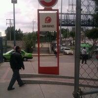 Photo taken at Tren Suburbano San Rafael by Alejandro D. on 7/4/2013