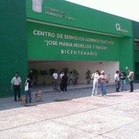 Photo taken at Centro de Servicios Administrativos Jose María Morelos by Alejandro D. on 5/24/2013