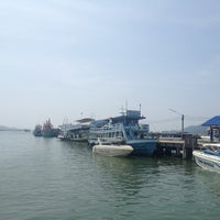 Photo taken at Chok Risda Pier by Tumnam N. on 10/20/2012