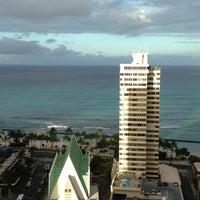 Photo taken at Hilton Waikiki Beach by Юлия М. on 5/13/2013