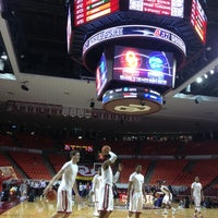 Photo taken at Lloyd Noble Center by Brian V. on 2/2/2013