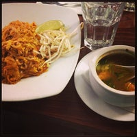 Photo taken at Pam Real Thai by Nina Z. on 2/24/2013
