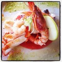Photo taken at Restaurant Hotel Miralles by Anna M. on 9/14/2013