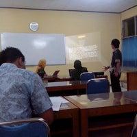 Photo taken at Universitas Krisnadwipayana (Unkris) by Denmas B. on 7/1/2013