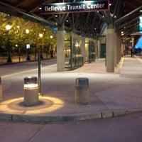 Photo taken at Bellevue Transit Center by Ryan H. on 5/14/2013