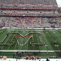 Photo taken at Capital One Field at Maryland Stadium by Heather d. on 11/3/2012