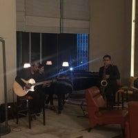 Photo taken at Hilton Executive Lounge by Winnderful on 11/16/2016