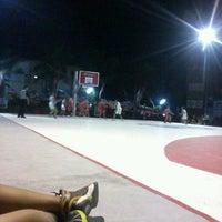 Photo taken at Lapangan Basket Unmuh Jember by Desta H. on 5/8/2013