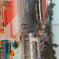 Photo taken at Restaurante Puerto Ceiba by Borre P. on 12/1/2013