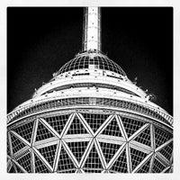 Photo taken at Milad Tower by Rasoul S. on 5/5/2013