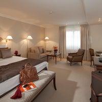Photo taken at Hotel Bristol Geneva by Hotel Bristol Geneva on 2/4/2014
