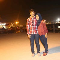Photo taken at Dermaga Hati,Ancol Beach Pool. by widi u. on 6/9/2014