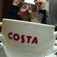 Photo taken at Costa Coffee by Paisley Steelman on 1/4/2015