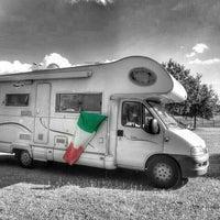Photo taken at Parcheggio Parco Ferrari by Kiala C. on 6/20/2014