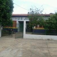 Photo taken at U. E. Joao Menezes by Sirlane P. on 3/7/2013