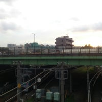 Photo taken at 代々木八幡跨線橋 by minoritaire 緑. on 9/25/2012