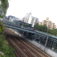 Photo taken at 恵比寿南橋 (アメリカ橋) by minoritaire 緑. on 9/27/2012