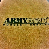 Photo taken at Army Navy Burger + Burrito by Charise Anne A. on 1/22/2013