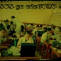 Photo taken at SMA Dwijendra Denpasar by ChaCha c. on 3/13/2013