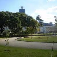 Photo taken at Praça Oswaldo Cruz by Leo V. on 1/31/2013
