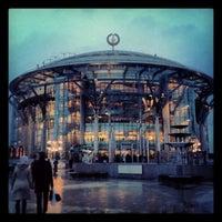 Снимок сделан в Московский международный дом музыки (ММДМ) пользователем Tanya C. 2/28/2013