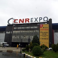 Photo taken at CNRExpo Fuar Merkezi by Suat U. on 3/16/2013