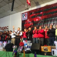 Photo taken at centro civico ecatepec by Mónica H. on 12/28/2014