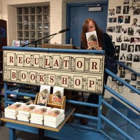 Photo taken at The Regulator Bookshop by Samuel M. on 10/24/2015