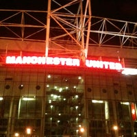 Photo taken at Old Trafford by caftis on 11/24/2012